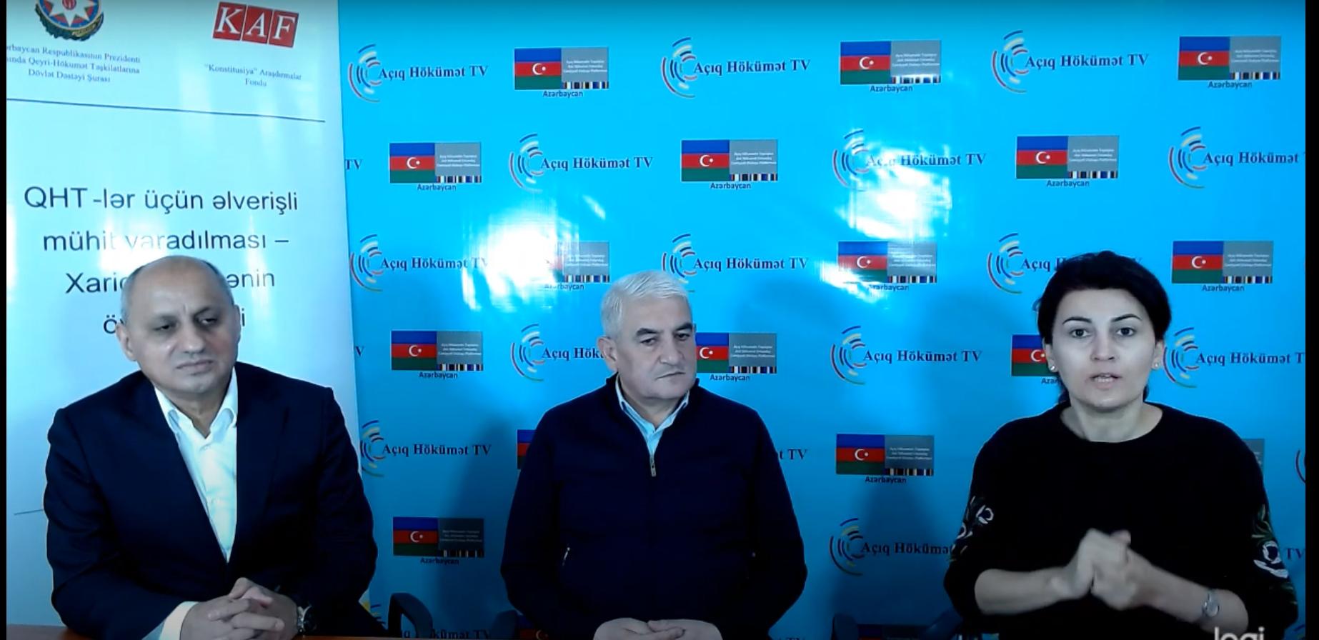 Debat: Əliməmməd  Nuriyev və  Hafiz  Həsəbov